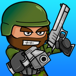Mini Militia مهكرة اسلحة وطيران وأسلحة وقنابل لٱ تنتهي
